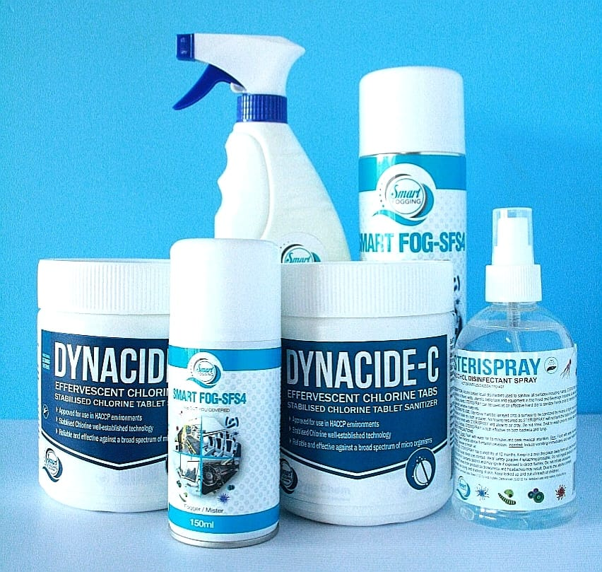 Dynacide-C Tabs Dynacide - £ TABS is a water purification I.a et Each tablet treats S00L.Sg Effervescent Tablets